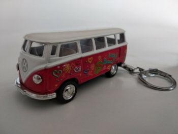 Porte clé Volkswagen cox Coca Cola en métal