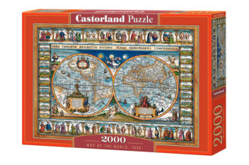 Ateepique Puzzle Puzzle2000cartemonde1 146
