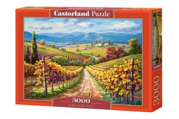 Ateepique Puzzle Puzzle3000collinesvignes1 173